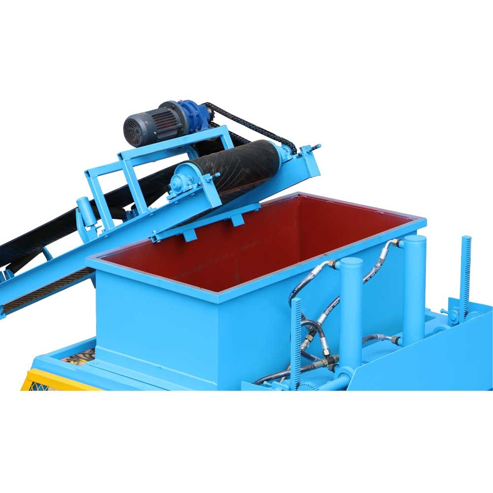 FL7-10 automatic interlocking brick machine
