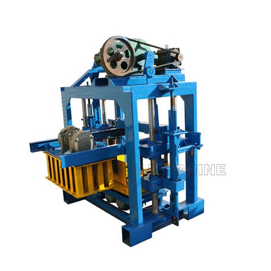 QTF40-2B manual concrete block making machine