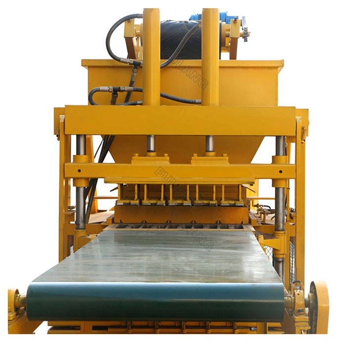 automatic compressed earth block machine