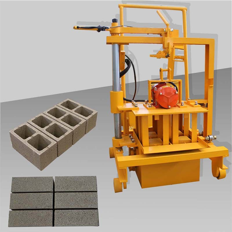 mini concrete block making machine