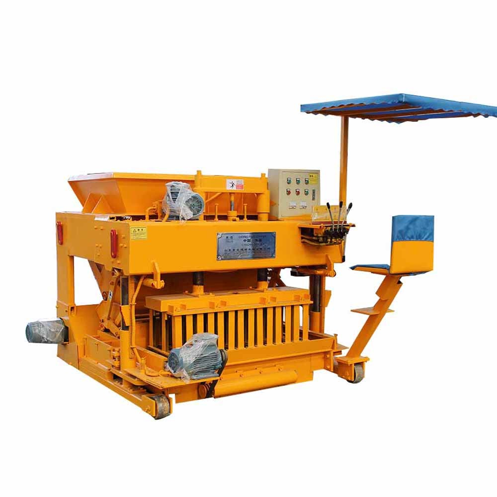 egg layer brick making machine