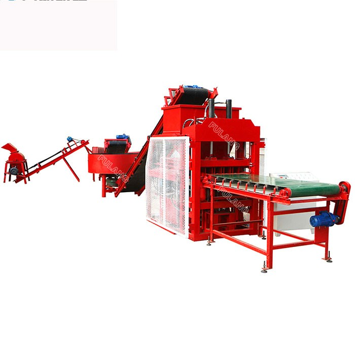 FL4-10 automatic earth brick making plant