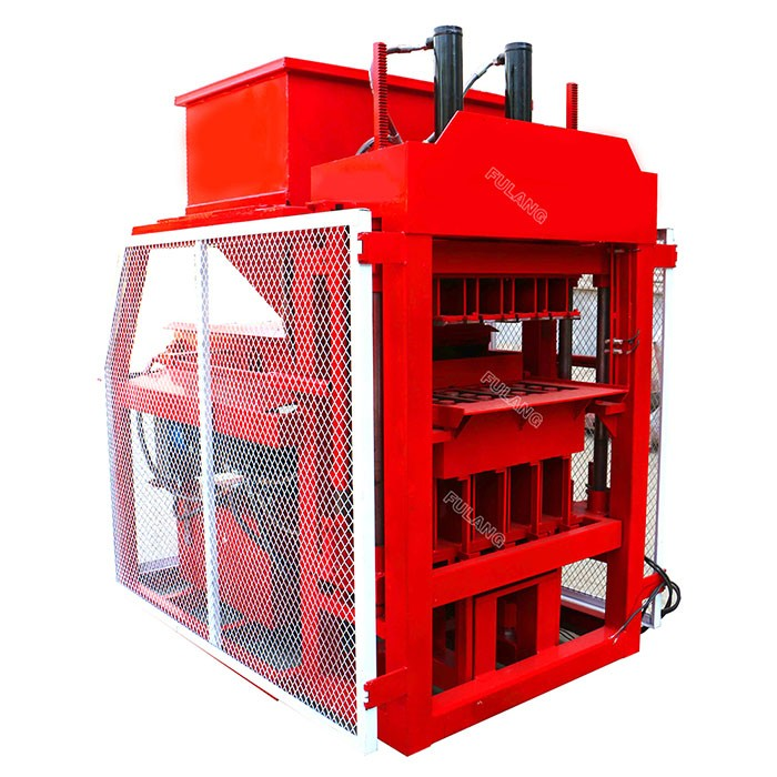 soil hydraulic brick press machine