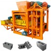 semi-automatic concrete block manufacturing equipment
