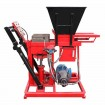 manual interlocking block machine