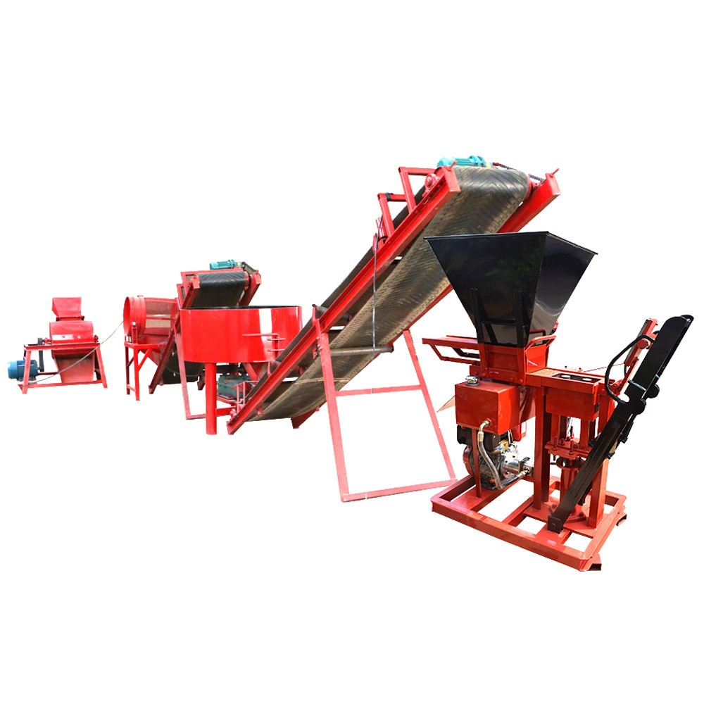 FL1-25 interlocking brick machine
