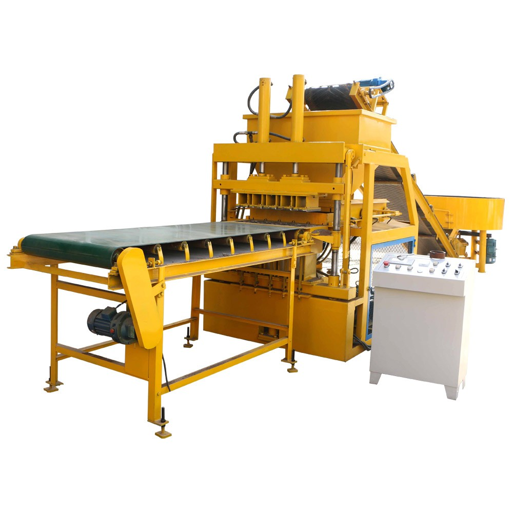 FL5-10 interlocking brick machine